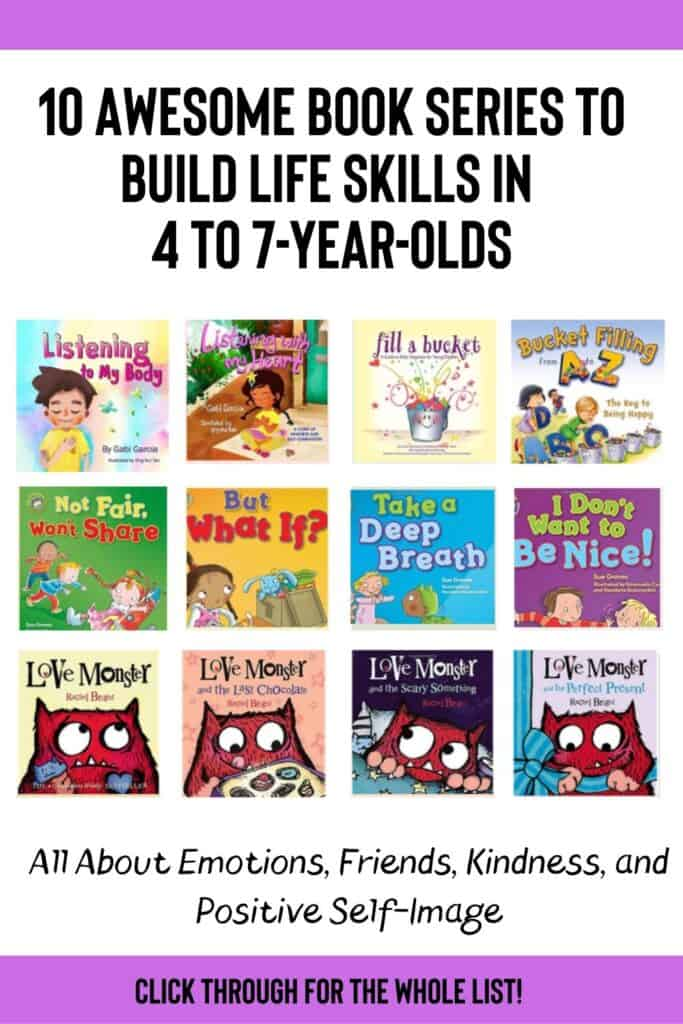 10 Awesome Book Series To Build Life Skills in 4 to 7-year-olds