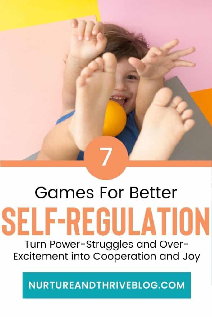 7 games for better self-regulation for kids