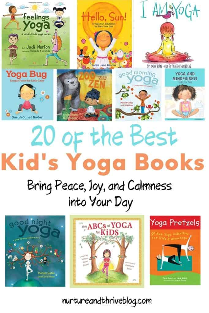 20 of the best yoga books for kids