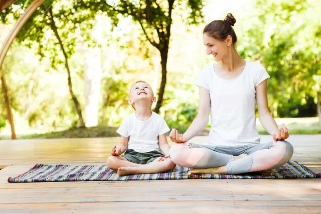 Yoga activity books for kids