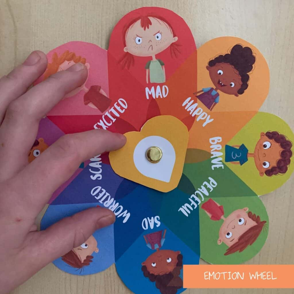 Emotion Wheel for Toddlers