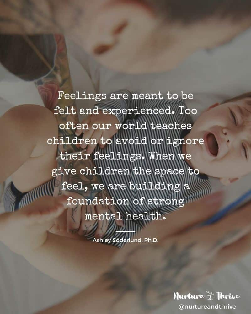 feelings are meant to be felt - the answer to tantrum and meltdowns in two simple steps